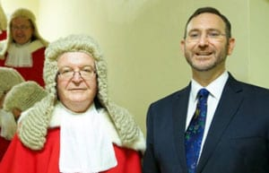 Chied Justice Tom Bathurst and Rabbi Jeremy Lawrence