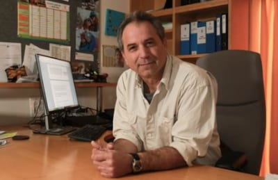 Prof. Noam Weisbrod, director of the Zuckerberg Institute for Water Research (ZIWR) in the Jacob Blaustein Institute for Desert Research at Ben-Gurion University of the Negev. Credit: Noam Weisbrod.