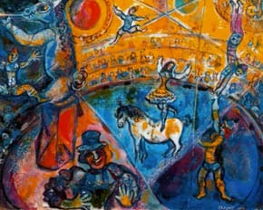 This work by Chagall is not one of the ones found
