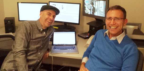 Dan Goldberg and Danny Ben-Moshe