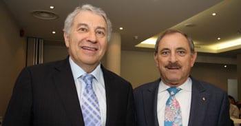 Dr Danny Lamm and Robert Goot