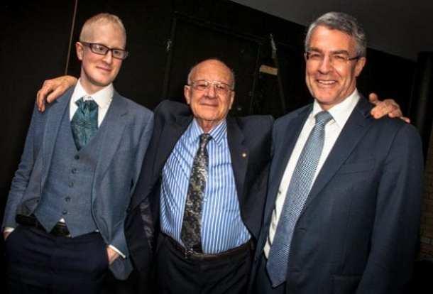 Jonathan, George and Mark Dreyfus