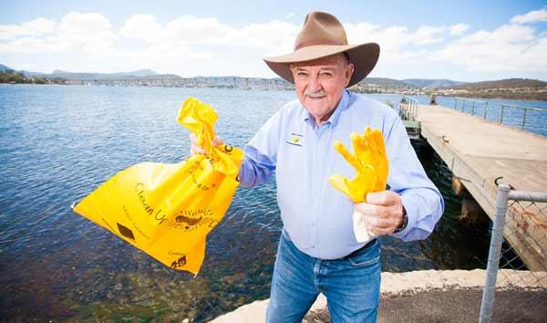 Ian Kiernan - founder of Clean Up Australia