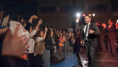A havdalah concert in Toronto for The Shabbat Project in 2014. Credit: The Shabbat Project.