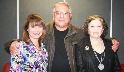 Jacqui Wasilewsky, Alan Gold and Rosalind Sharbanee Meyer