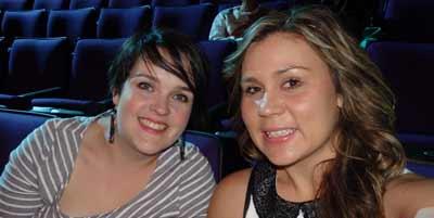 Laura Fitzgerald and Kyarne Biles