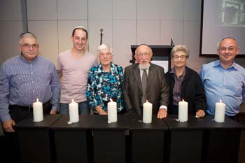 Graham Levy, Ilan Bloom, Erna Levy, Joachim Schneeweiss, Sybil and Geejay Schneeweiss