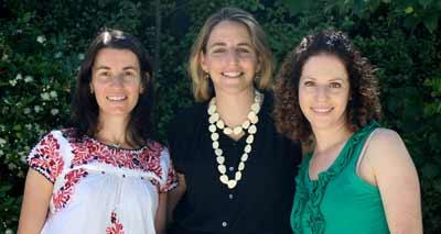 Natalie Hershan, Amanda Miller and Moran Dvi