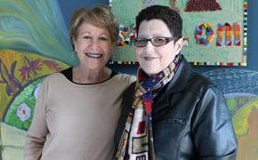 Nava Miller and Mandy Gecelter