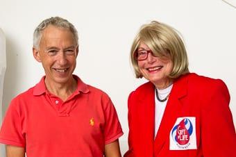Paul Seshold and Shula Endre-Walder      Photo: Henry Benjamin