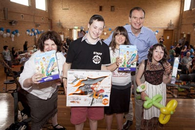 David Southwick MP gave out prizes to Jewish Care Disability Services' clients