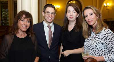 Jenny Hillman, Daniel and Sarah Klineberg and Zoe Hillman