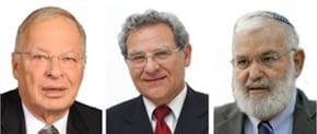 Ehud Ya'ari, Efraim Inbar and Maj-Gen (res) Yaakov Amidror