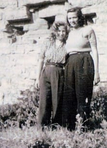 Ester and Malka after the war