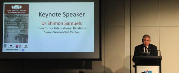 Dr Shimon Samuels