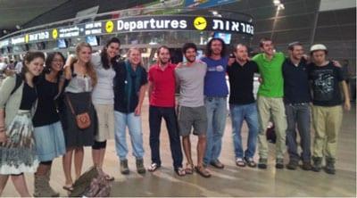Leaders leave Tel Aviv