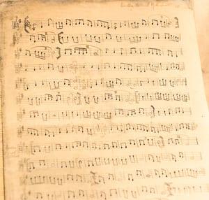 Rabbi Samuel Gottshall's sheet music