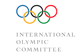 The logo of the International Olympic Committee. Credit: Wikimedia Commons.