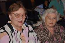 Lindia Lipkina and Freda Shoftaalovich enjoy Harmony Day