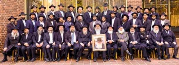 Rabbinical working group    Photo:  Henry Benjamin