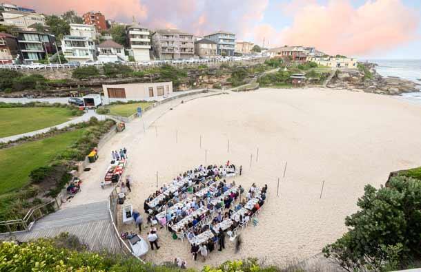 Shabbat on the beach