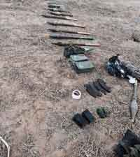 Weapons found after tunnel incident