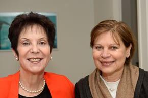 Rivka Lazovsky and Australian WIZO president Gilla Liberman   Photo: Henry Benjamin