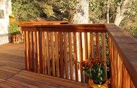 Wood Deck Railing   Wood Railings   Outdoor Railings ...