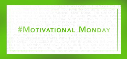 motivational monday — jwmartin.com