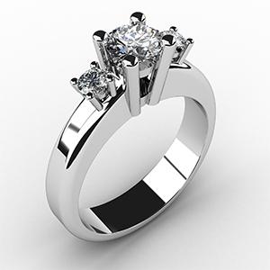3-Stone-Diamond-set-in-platinum-