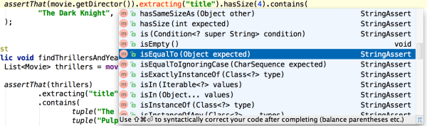 code-completion-string