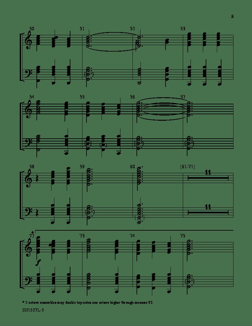 Fanfare for Easter by Sondra Tucker| J.W. Pepper Sheet Music