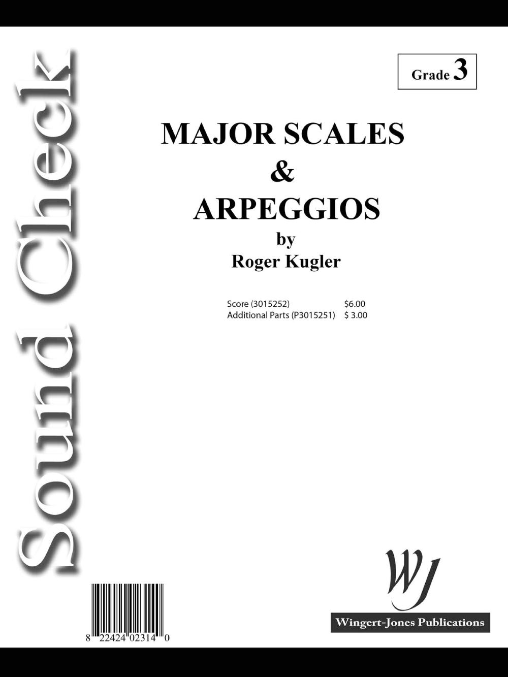 Major Scales and Arpeggios by Roger Kugler| J.W. Pepper