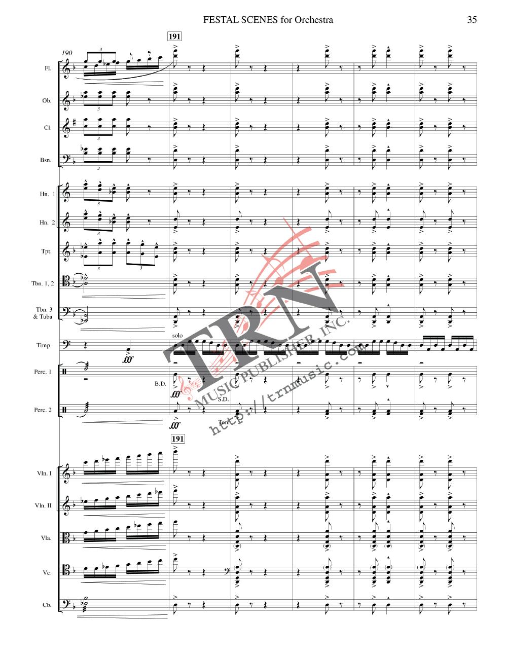Festal Scenes by Yasuhide Ito  J.W. Pepper Sheet Music