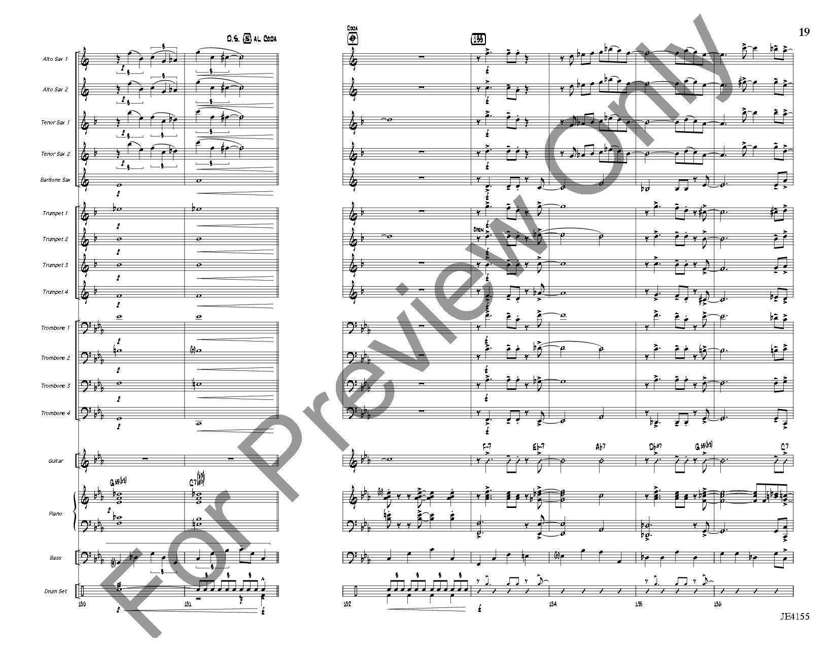 Blue Tiger by Erik Morales| J.W. Pepper Sheet Music
