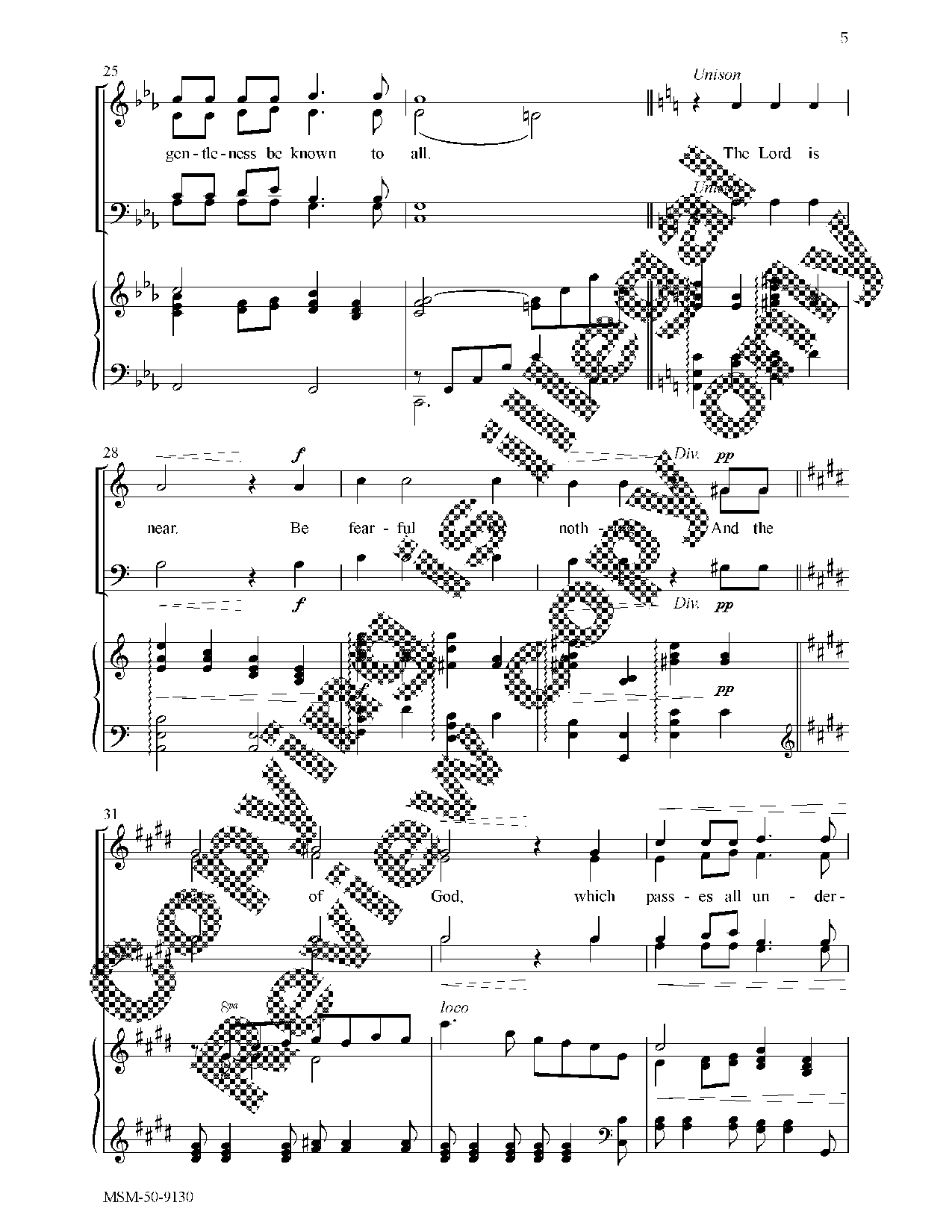 Trust in the Lord (SATB ) by Claude L. Bass  J.W. Pepper