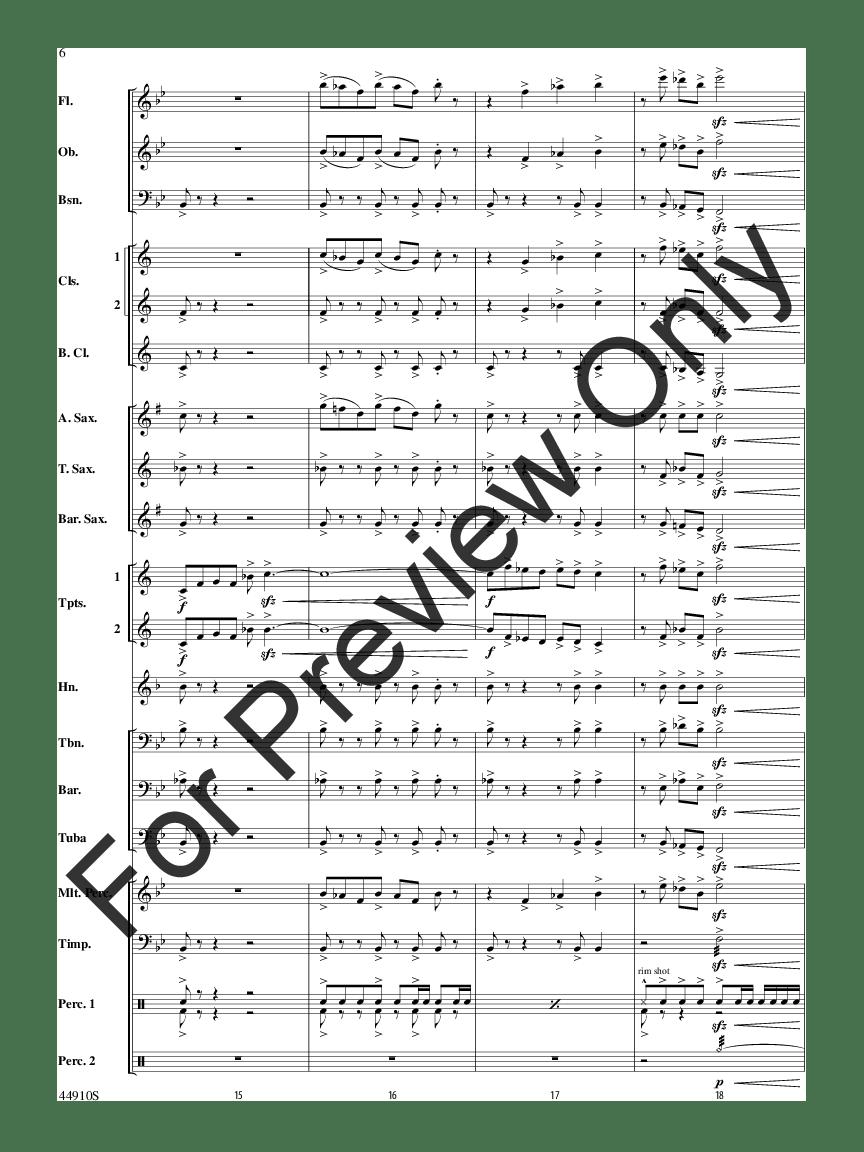 Autumn Roads by Patrick Roszell  J.W. Pepper Sheet Music