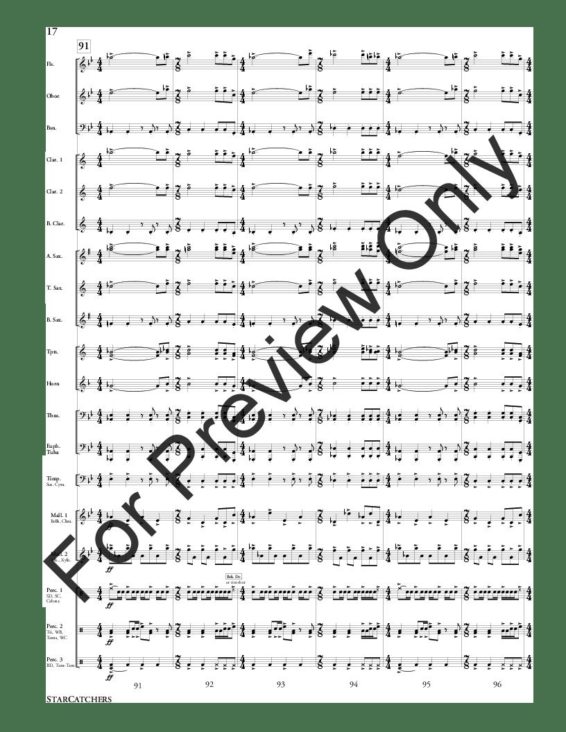 StarCatchers by Nathan Daughtrey| J.W. Pepper Sheet Music