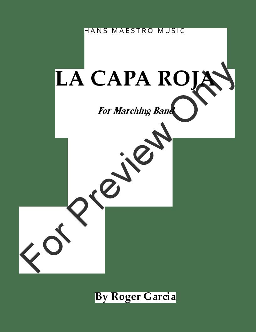 La Capa Roja by Roger Garcia| J.W. Pepper Sheet Music