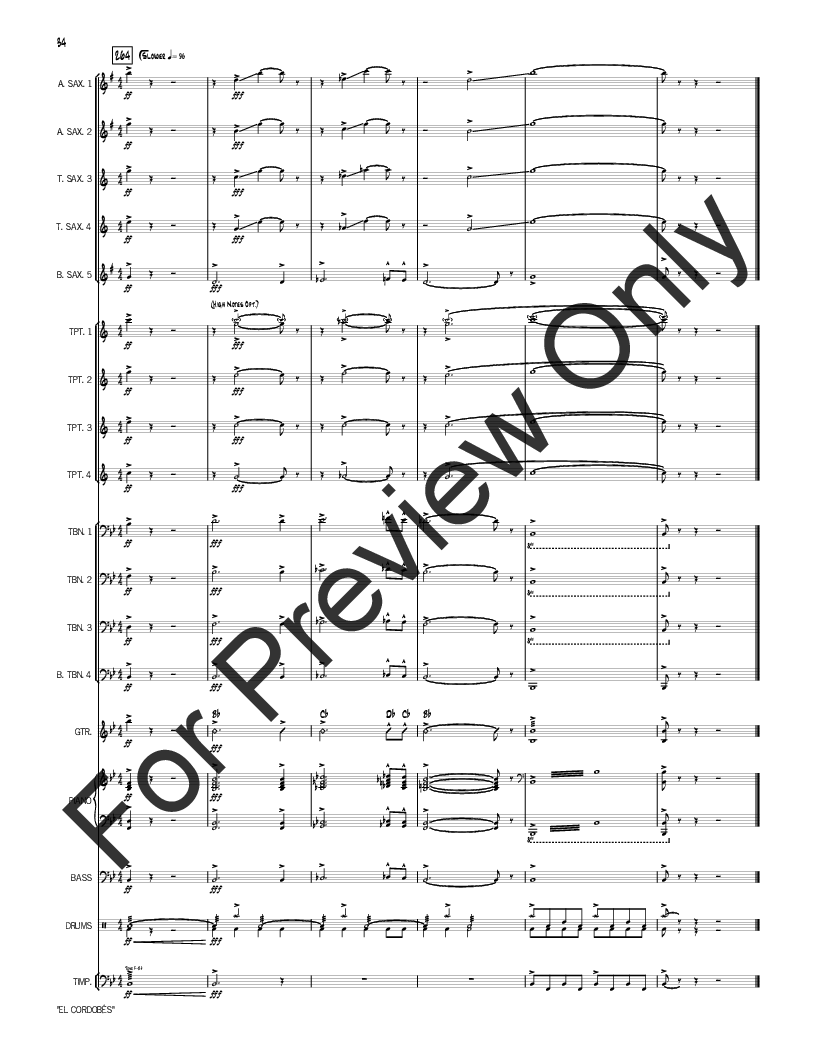 El Cordobes by Rich Woolworth| J.W. Pepper Sheet Music