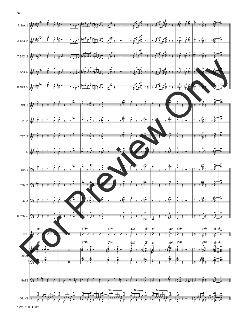 Have You Herd? by Rich Woolworth| J.W. Pepper Sheet Music