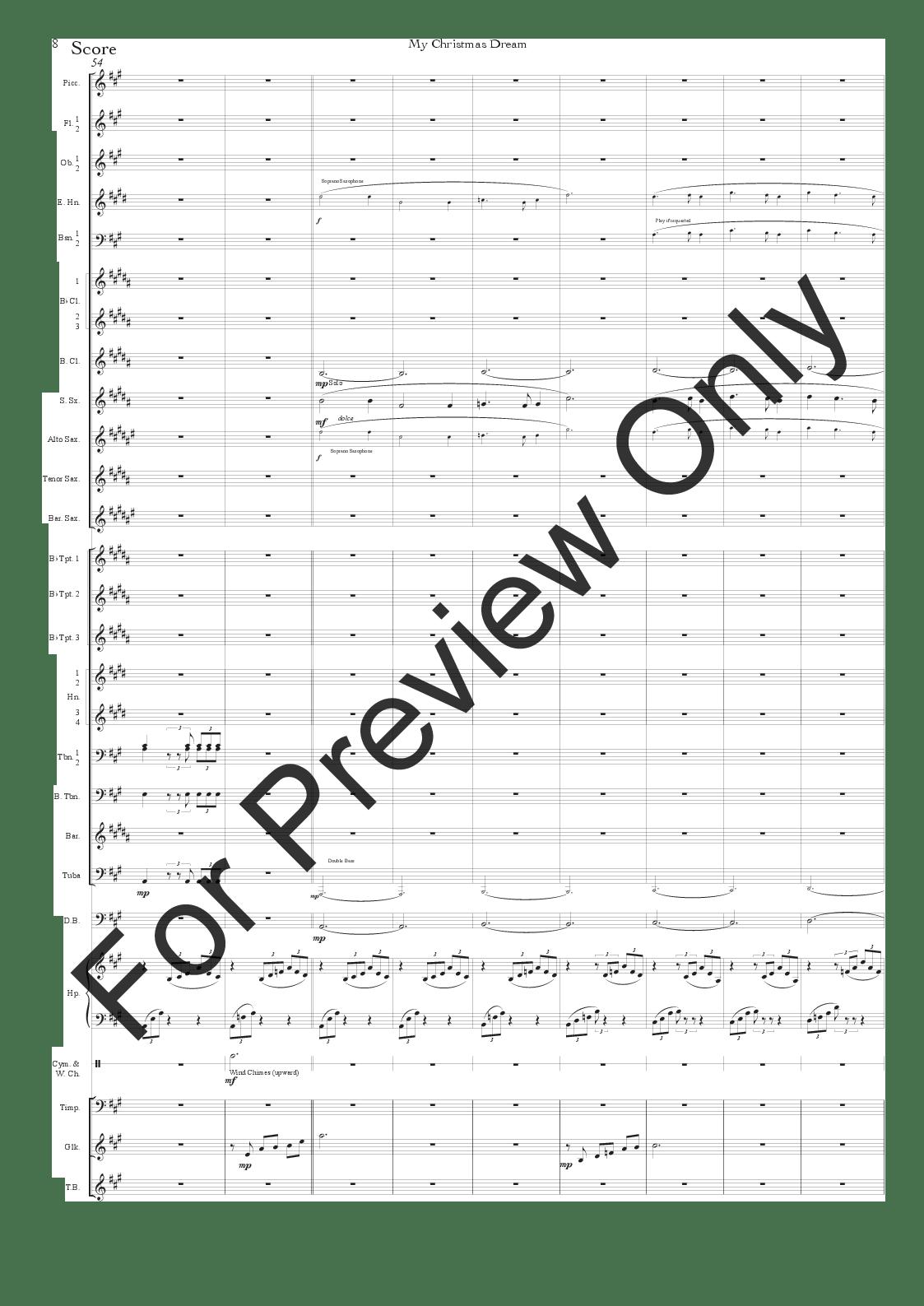 My Christmas Dream by Ilari Hylkila  J.W. Pepper Sheet Music