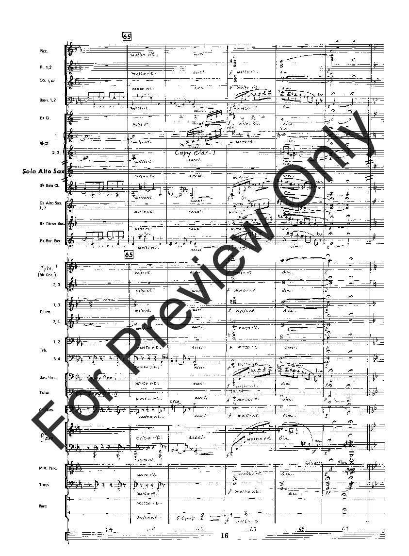 Fantasia for Alto Saxophone by Claude T. Smith| J.W