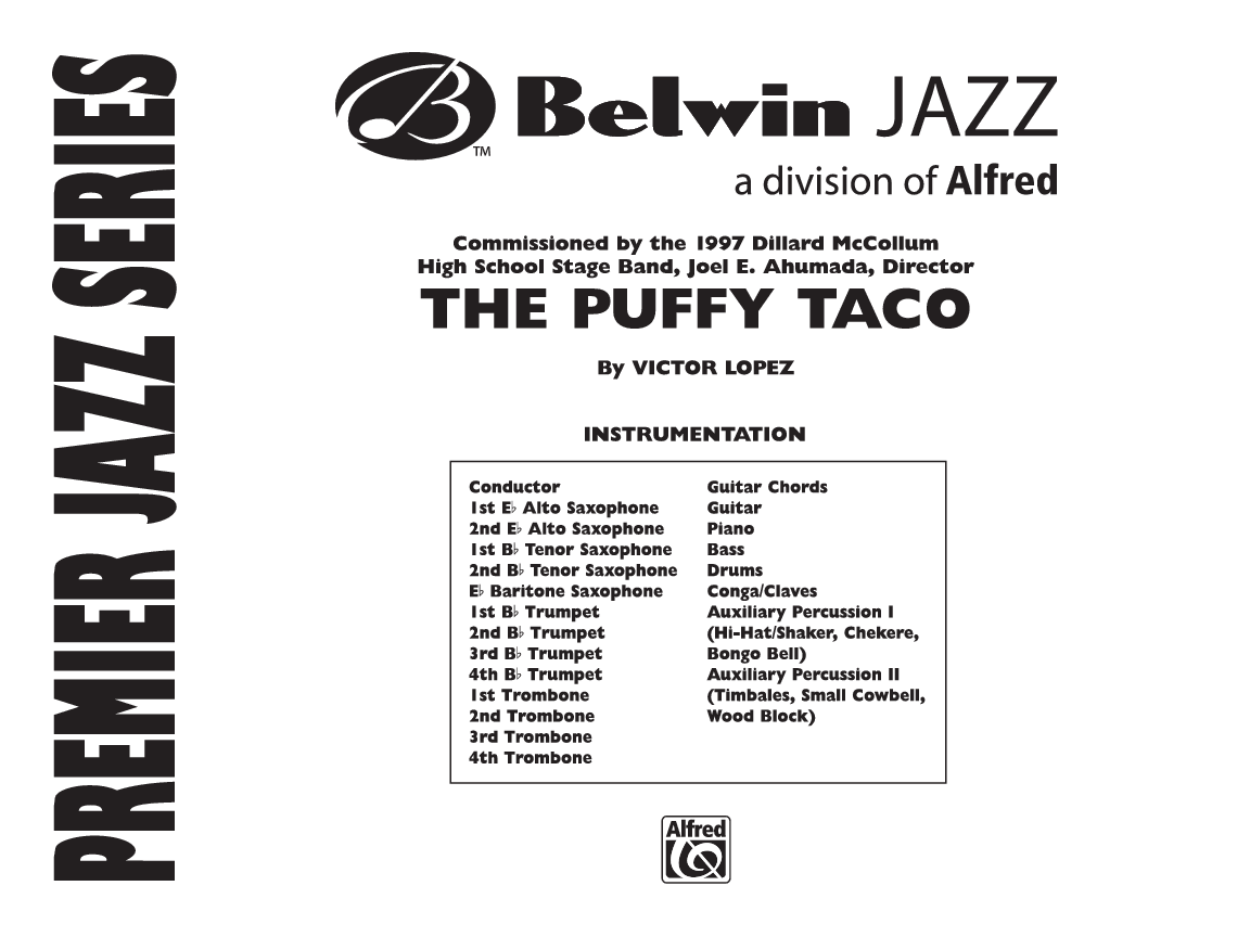 Puffy Taco by Victor Lopez| J.W. Pepper Sheet Music