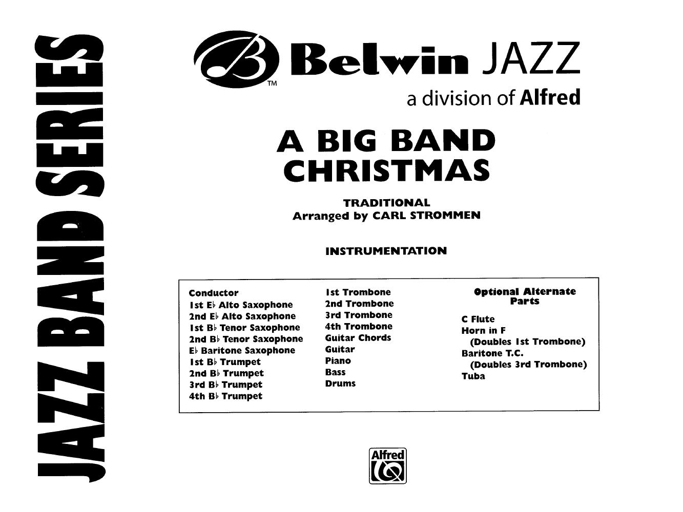 A Big Band Christmas I arr. Carl Strommen  J.W. Pepper