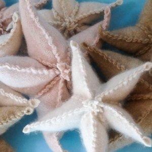 Cashmere Starfish Sachets