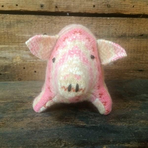 Fair Isle Piggy