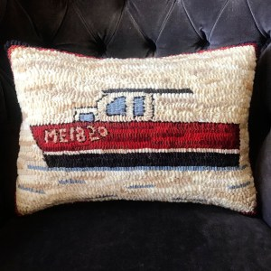 ME1820 Lobster Boat Pillow