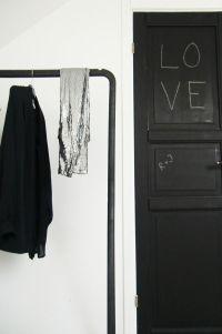 Creative Door Decor--All You Need is Paint  JWS Interiors