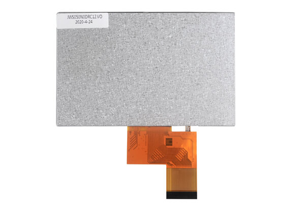 5 inch TFT LCD high resoution 800X480